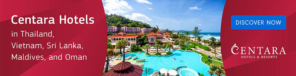 Book Family Holiday Deals at Centara Hotels in Thailand, Maldives, Sri Lanka, Oman and Vietnam