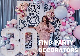 Birthday Party Balloon Decorators and Floral Designers