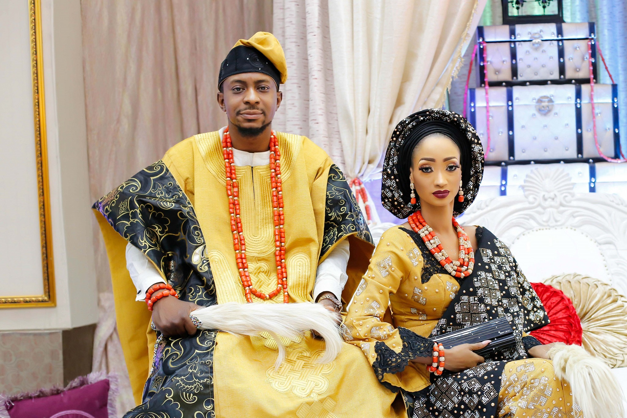 Traditional African Outfits Asoebi Ankara African Print and Fashion Designers