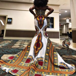 Chimzi Fashion House African Inspired Custom Made Designer NC