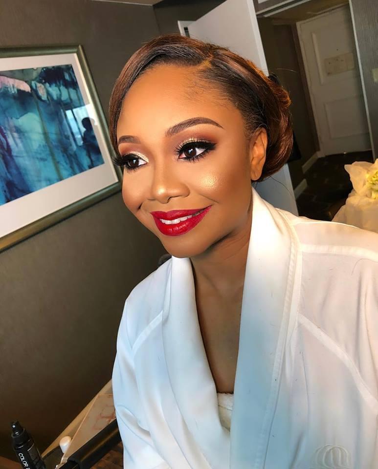 Color Du Jour Celebrity Bridal Makeup