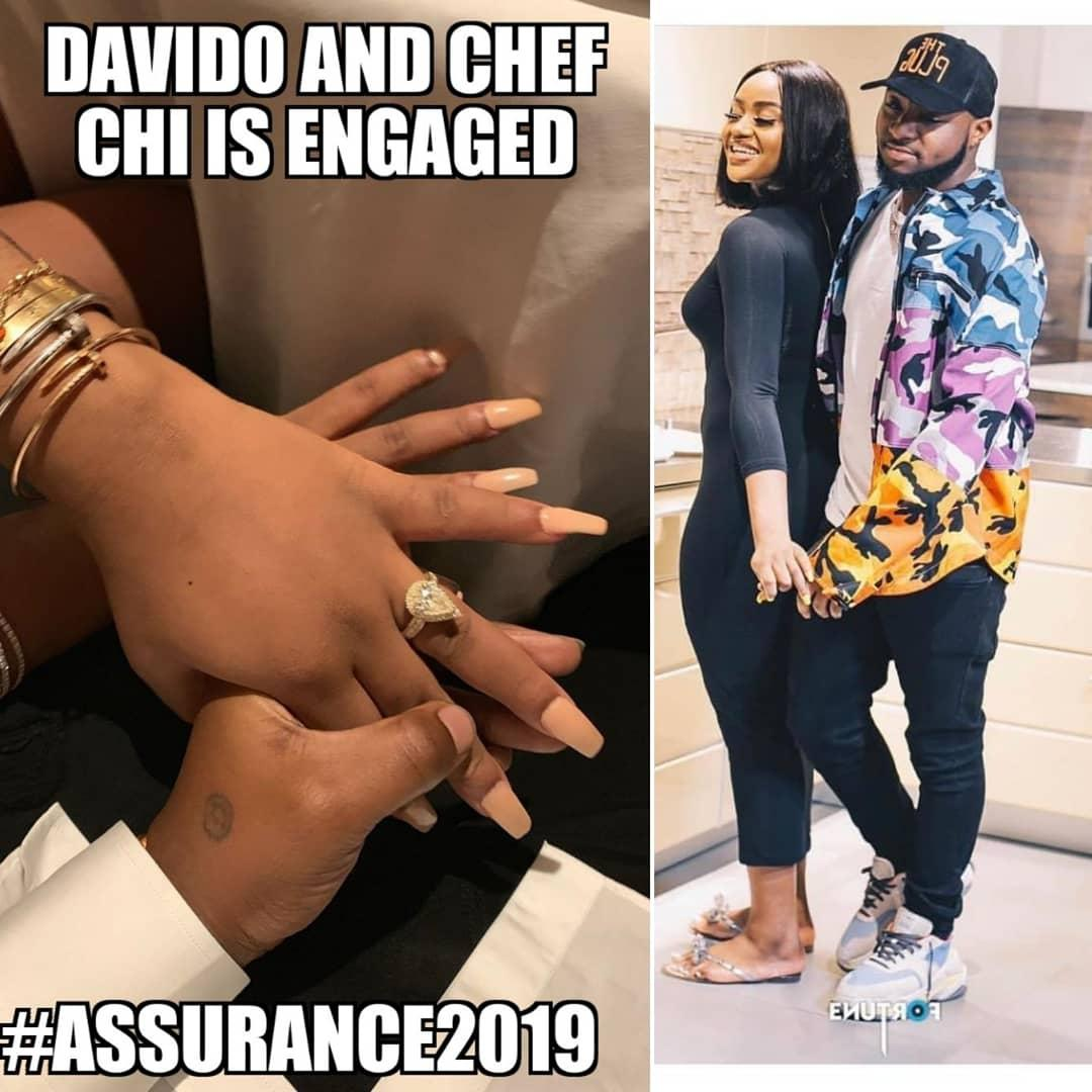 Davido is Engaged to Chef Chioma - Sneak Peek Proposal Video 1