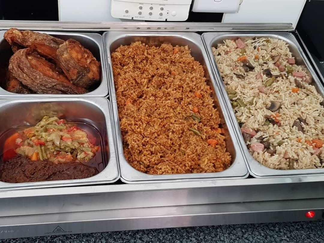 Hilda's Kitchen African Events and Wedding Caterer North West