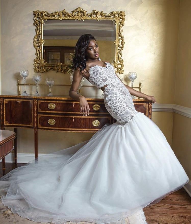 African American Bridal Fashion Designer