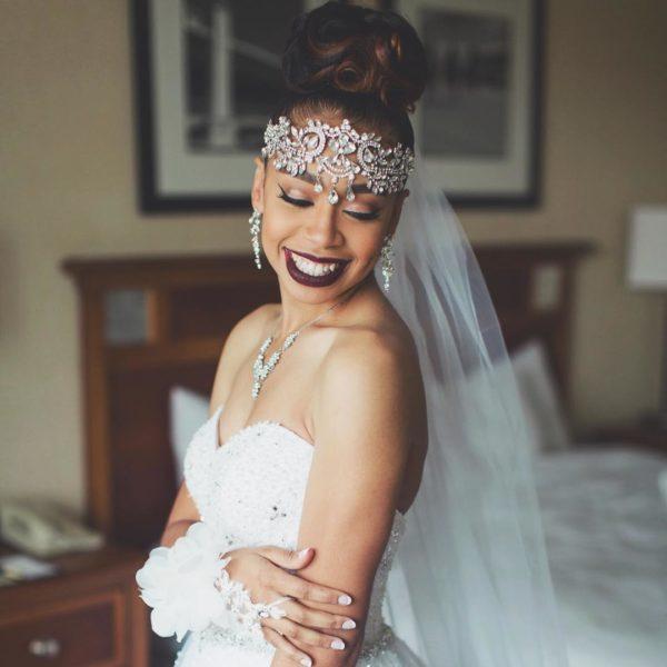 Shishi Makeup Artistry Maryland Black Bridal Makeup Artist