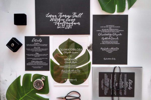 Studio Oudizo Wedding Stationaries and Calligraphy Designs