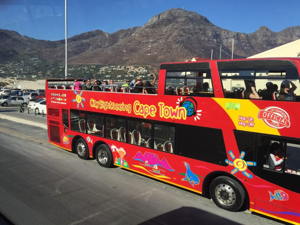 Sightseeing Cape Town on the Red Bus