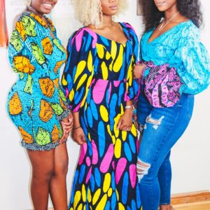 Shop african fashion wear for Konko Below Ankara African Print Bodycon Mini Dress by Yvonne Irenroa African Fashion Clothing