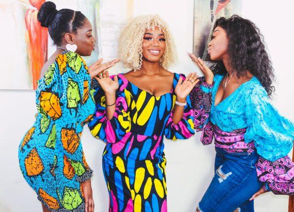 Sade African Fashion Ankara Print Maxi Dress