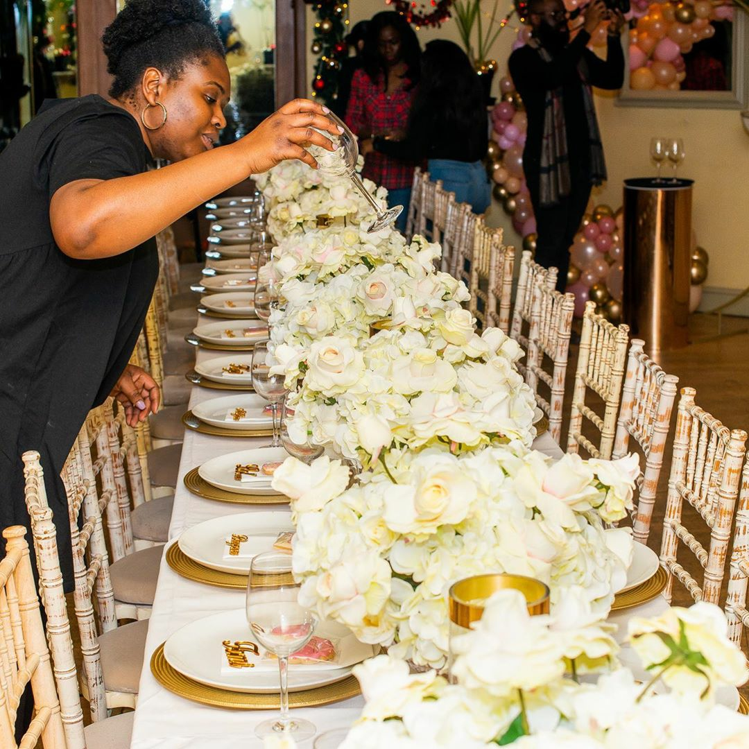The Bailey Events Black Event and Wedding Planner 6