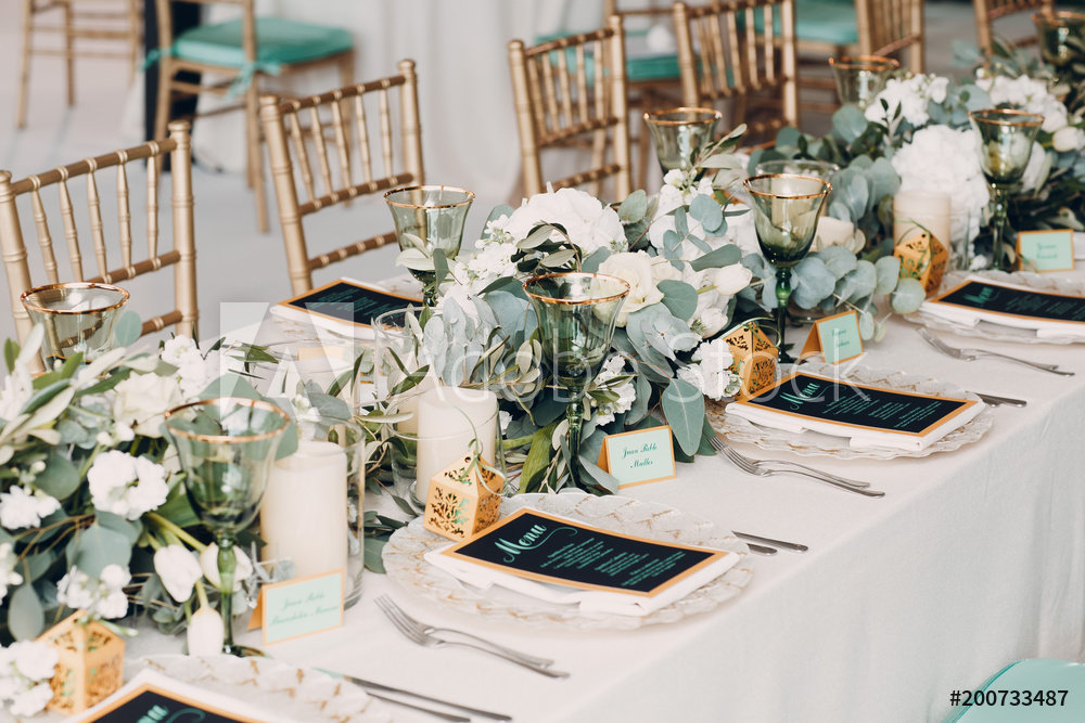The Bailey Events Black Event and Wedding Planner 2