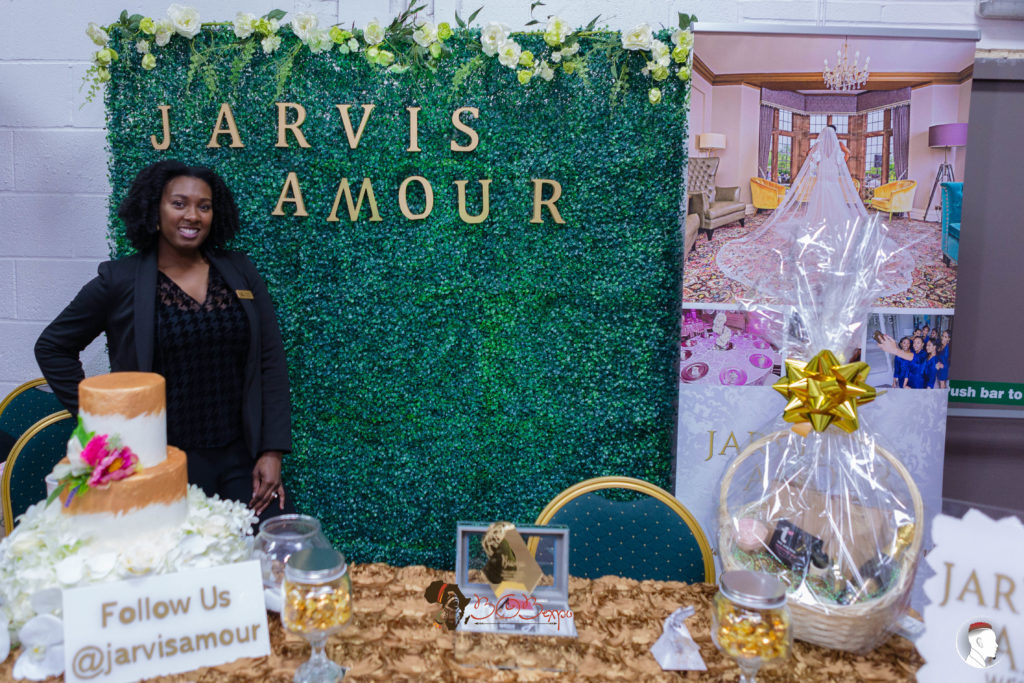 Owner of Jarvis Amour Black Luxury Wedding Planner Manchester