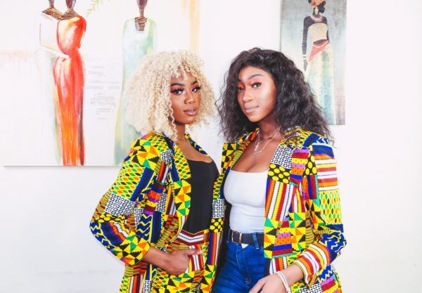 Nigerian and Zim Queens rocking Length Trousers